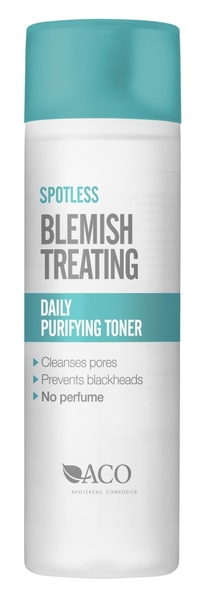 aco spotless daily purifying toner