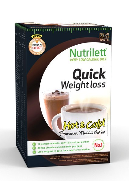 nutrilett quick weight loss shake