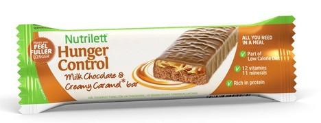 nutrilett milk chocolate & creamy caramel bar