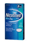 Nicotinell Mint 2 mg 12 imeskelytablettia