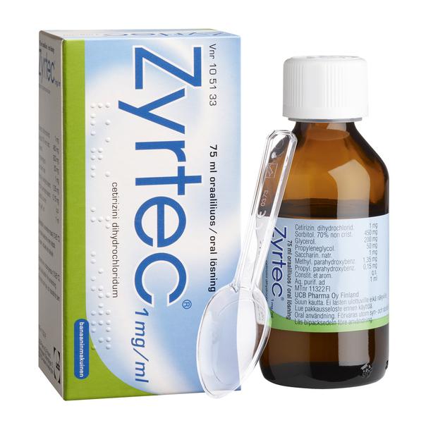 allergialääkkeitä ilman reseptiä