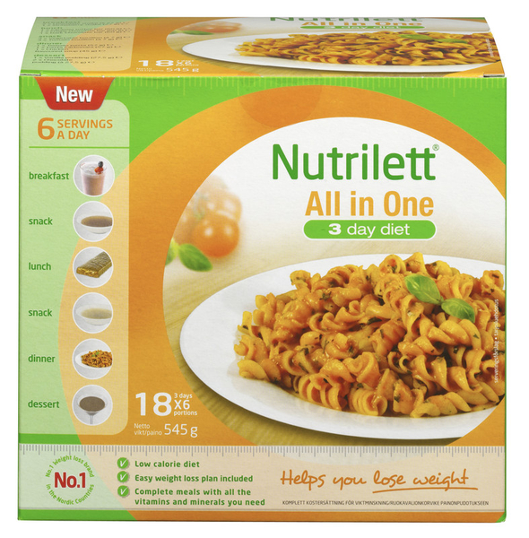 nutrilett pasta carbonara