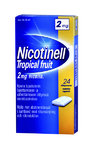 Nicotinell Tropical Fruit 2 mg 24 lääkepurukumia