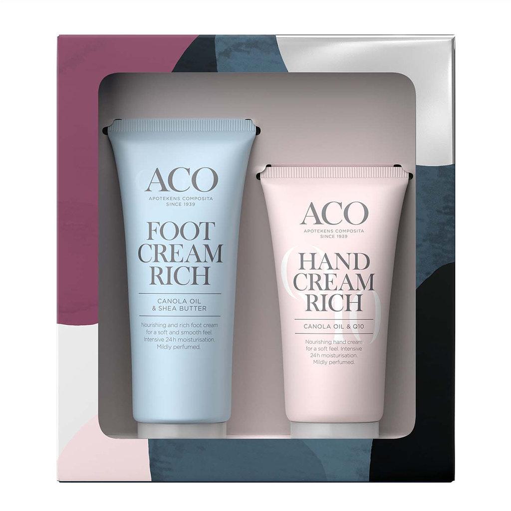 aco foot cream rich