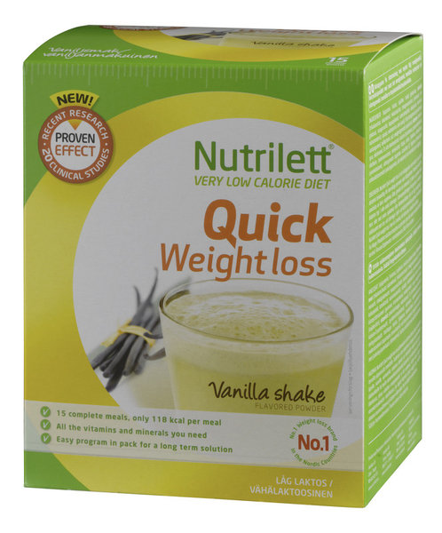 nutrilett weight loss