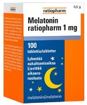 Melatonin ratiopharm 1 mg 100 tablettia