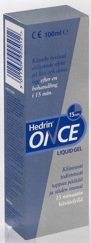 hedrin once liquid gel instructions
