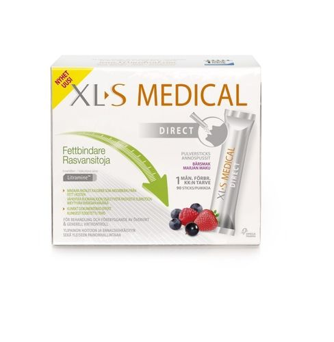 XL-S Medical Direct Rasvansitoja 90 annospussia