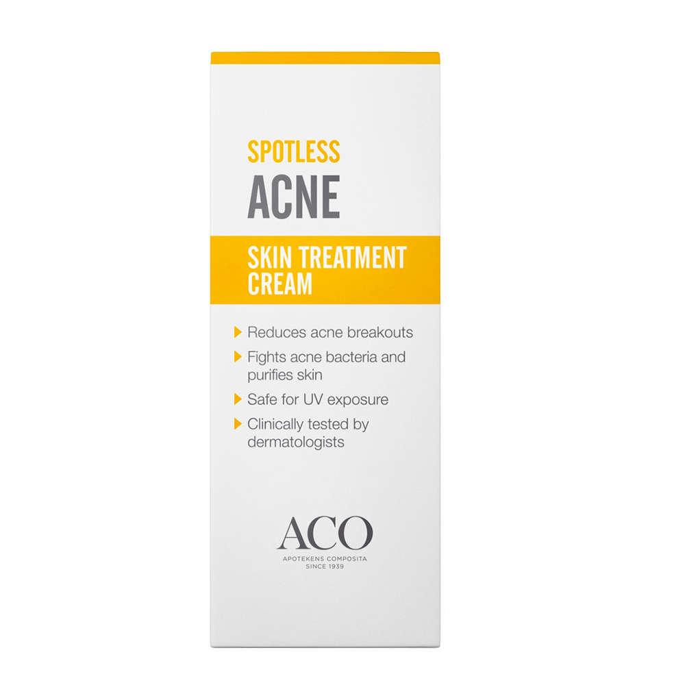 aco spotless treating moisturiser