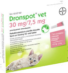 Dronspot Vet 30 mg/7,5 mg 2 x 0,35 ml