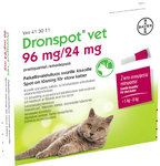 Dronspot Vet 96 mg/24 mg 2 x 1,12 ml